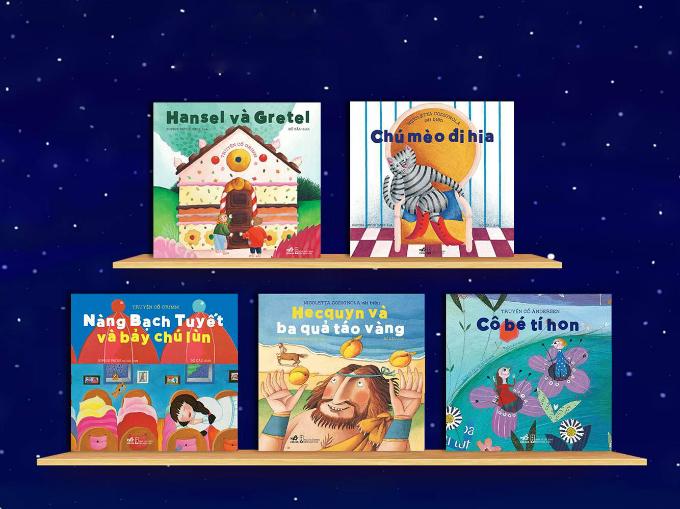 Những cuốn sách giúp trẻ phát triển đa giác quan - 3