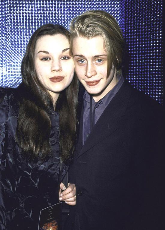 Nam diễn viên và người vợ thời trẻ, Rachel Miner.
