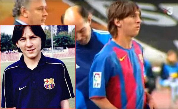 Messi tập luyện trong học viện La Masia của Barca và có trận đấu ra mắt năm 17 tuổi.