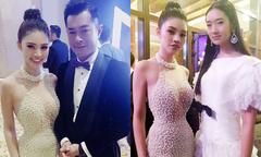 Jolie Nguyễn hội ngộ Cổ Thiên Lạc và sao 'Thiên tài bất hảo' ở Macau