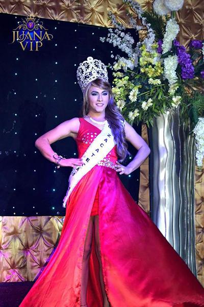 Cristian Carrillo ghen tức khi không được trở thành hoa hậu cuộc thi. Ảnh: CEN