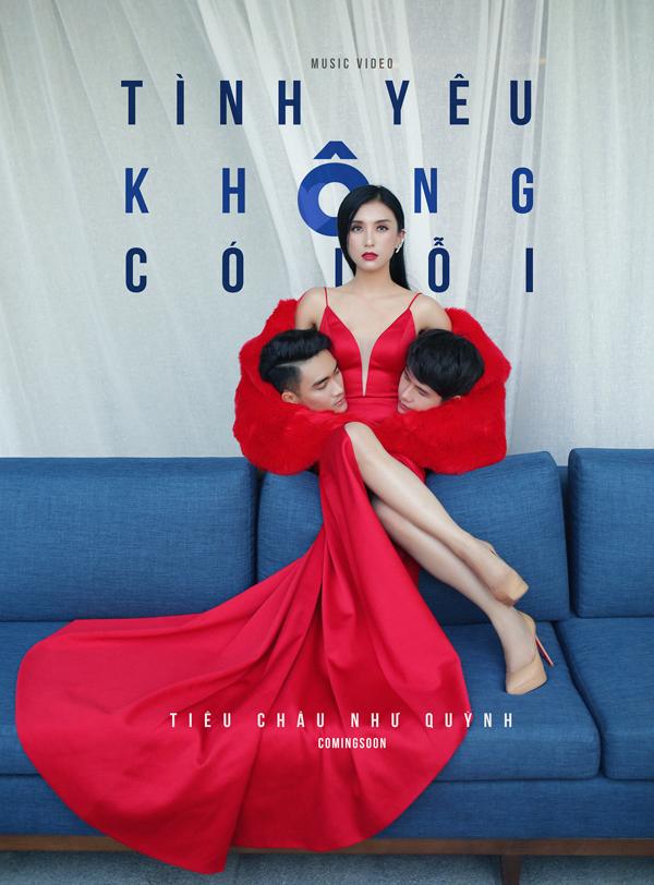 Tiêu Châu Như Quỳnh vừa ra mắt teaser MV Tình yêu không có lỗi, đồng thời chia sẻ poster quảng bá MV này. Poster gây chú ý với hình ảnh nữ ca sĩ mặc sexy, hai tay ôm đầu của hai mẫu nam.