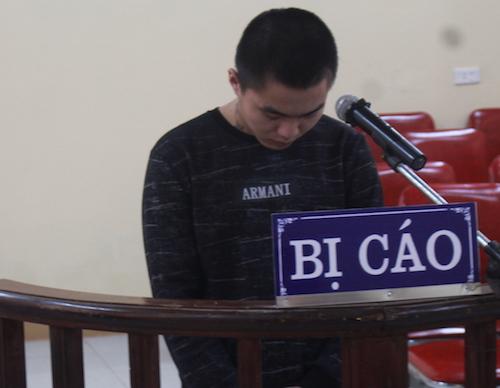 Lê Minh Lâm tại tòa. Ảnh: Phan Giang.