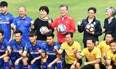 9 cầu thủ U23 Việt Nam giao lưu với Tổng thống Hàn Quốc