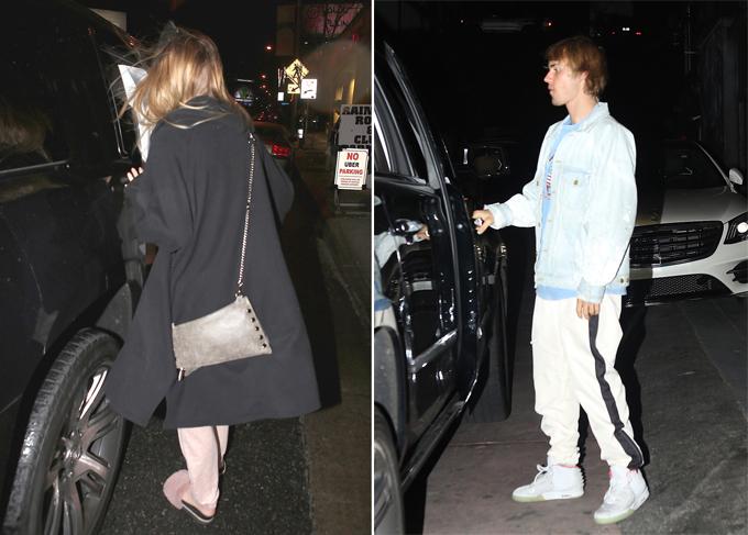 Sau đêm nhạc, Baskin lên xe Justin và hai người về nhà nam ca sĩ cùng nhau.