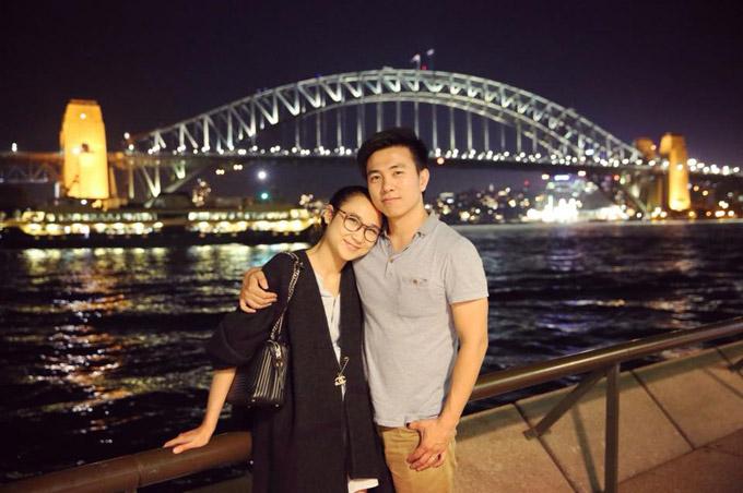 Hồng Vân, con gái Thanh Lam đang có cuộc sống bình yên và viên mãn bên ông xã điển trai tại Australia.