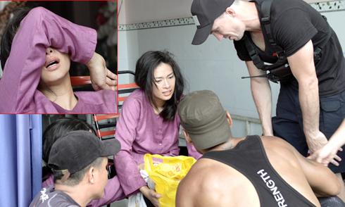 Ngô Thanh Vân bị nứt xương đầu gối vì tự đóng cảnh hành động