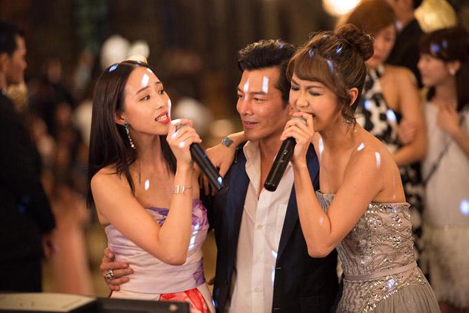 Trần Bảo Sơn mất nửa ngày quay cảnh gần gũi mỹ nhân TVB - 2