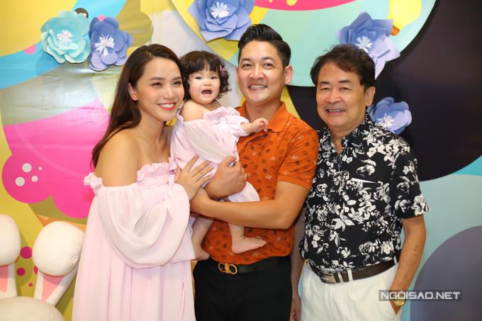 Vợ chồng Hải Băng - Thành Đạt làm tiệc thôi nôi cho con gái - 8