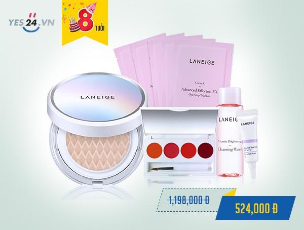 Kem phấn nền dưỡng trắng Laneige BB cushion15g No.21 - giá 524.000 đồng.