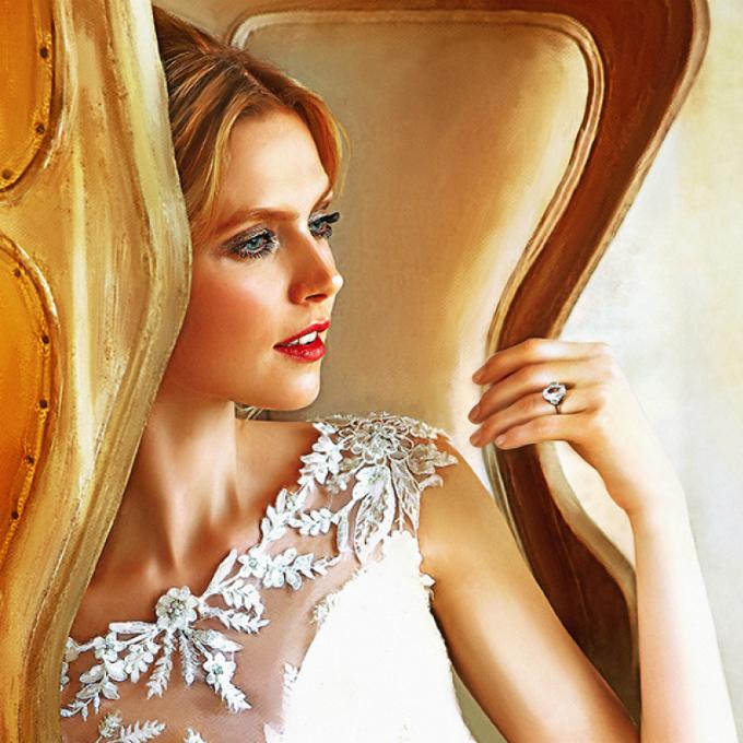 Ảnh cưới Digital painting: Vừa nghệ thuật lại không đụng hàng - 9