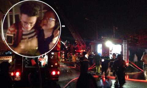 Con trai thoát khỏi vụ cháy Carina nhờ được bố chỉ dẫn qua điện thoại