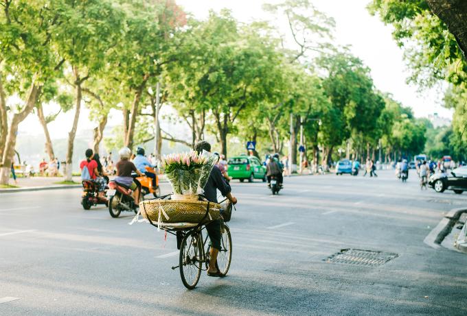 Thủ đô Hà Nội có thứ hạng cao, xếp trên nhiều địa danh nổi tiếng thế giới khác. Ảnh: Phan Quốc Bảo