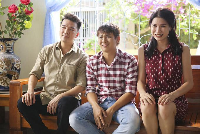 Hoài Lâm sợ chết khiếp trước mẹ vợ Trang Trần trong phim mới - 3