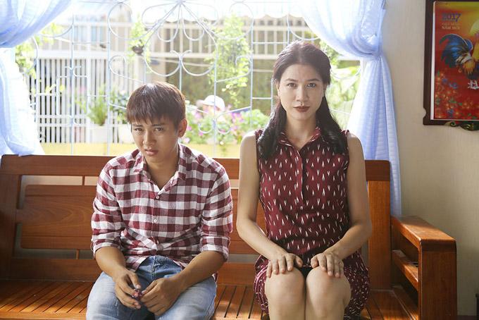 Hoài Lâm sợ chết khiếp trước mẹ vợ Trang Trần trong phim mới - 4