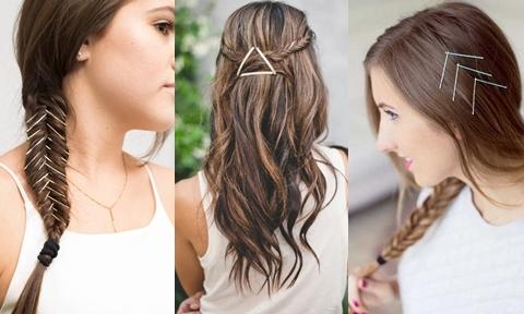 10 cách tạo kiểu tóc sáng tạo với cặp tăm