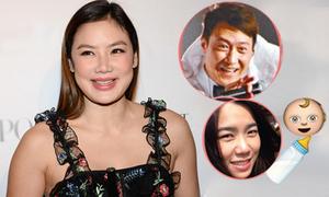 Vợ cũ gốc Việt chúc mừng Lê Minh sắp có con đầu lòng ở tuổi 52