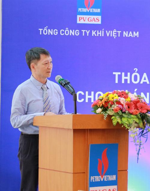 Ông Hồ Tùng Vũ - Phó Tổng Giám đốc PV GAS.