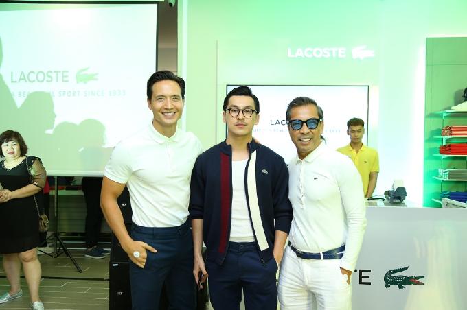 Dàn nam thần hội ngộ tại sự kiện giới thiệu sản phẩm Lacoste Paris Polo - 8
