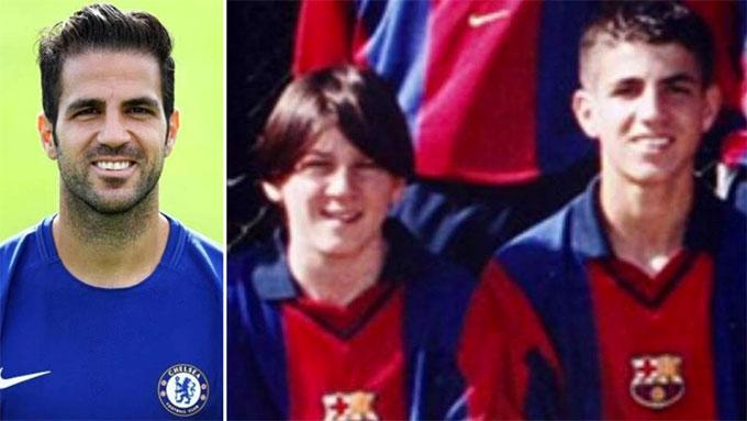 Fabregas ấn tượng bạn thân Messi nhút nhát, rất nhỏ con và gày gò