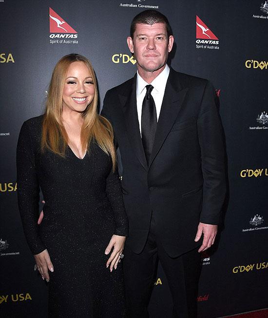 James Packer từng đính hôn với Mariah Carey nhưng hủy hôn vào tháng 10/2016.