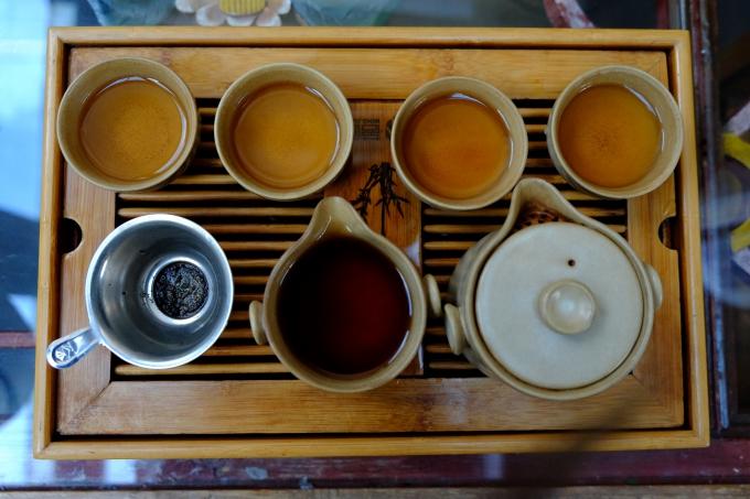 Loai trà giảm cân, đẹp da nổi tiếng của Trung Quốc - 1