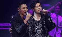 Hai 'Thiên vương' làng nhạc Trung Quốc lần đầu đứng chung sân khấu