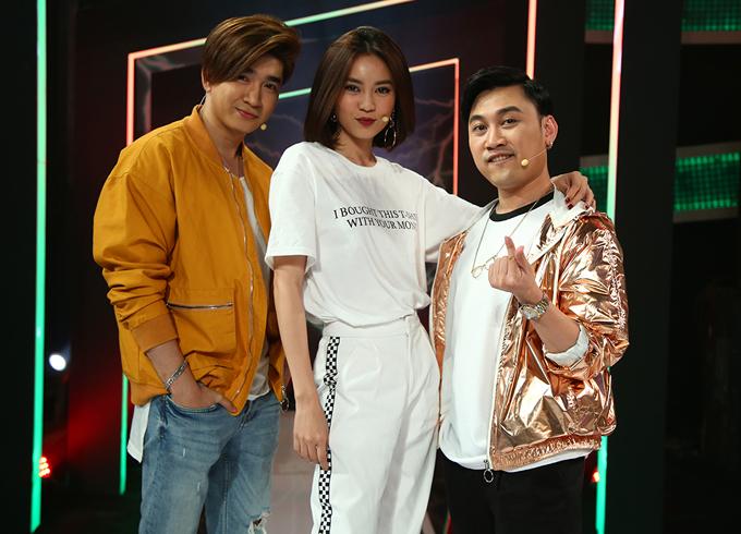 Ca sĩ Chi Dân, diễn viên Lan Ngọc và Don Nguyễn hào hứng với gameshow mua bản quyền củaThái Lan.