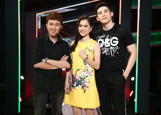 Anh Đức, Lâm Vĩ Dạ và ca sĩ Minh Trung hứa hẹn chọc cười khán giả truyền hình.
