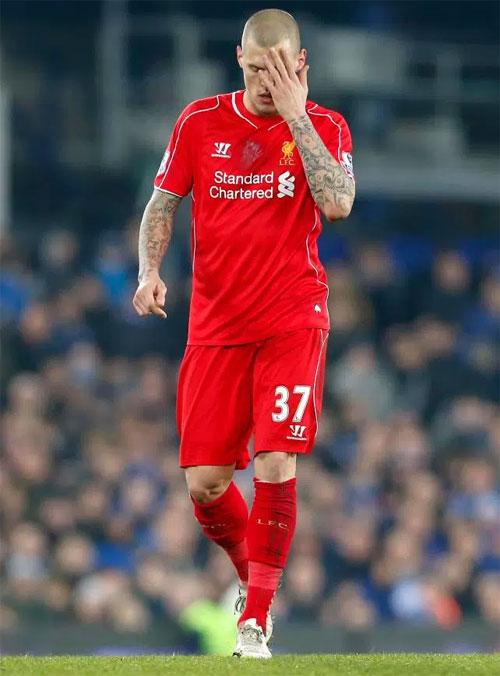 Martin Skrtel từng có 8 năm gắn bó với Liverpool và được các fan áo đỏ yêu mến vì tinh thần thi đấu hết mình.