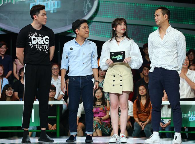 Trương Thế Vinh cũng tham gia show này.