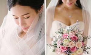 Đám cưới 'vườn hồng cổ tích' của nữ nghệ sĩ TVB