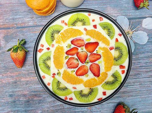 Sữa chua dẻo trái cây thanh mát và bổ dưỡng - 4
