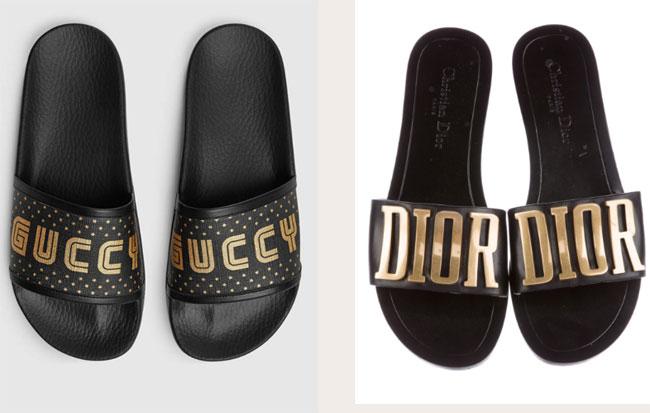 Hai thiết kế dành riêng cho mùa hè của Gucci và Dior.