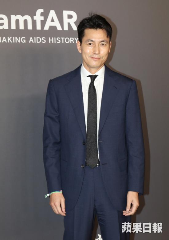 Diễn viên Trung Quốc Jung Woo Sung.