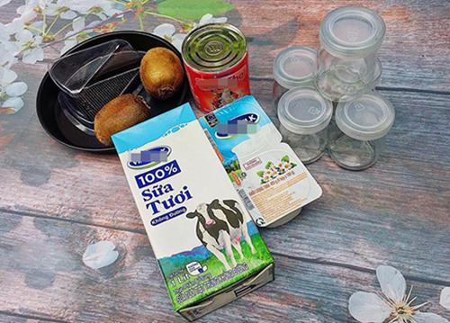 Sữa chua dẻo trái cây thanh mát và bổ dưỡng - 1