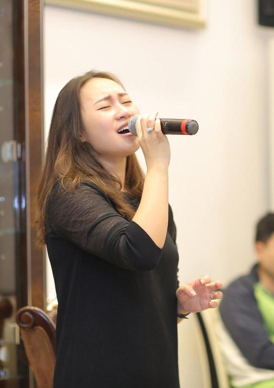 Thanh Lam, Trọng Tấn đến nhà riêng nhạc sĩ Phú Quang để tập nhạc - 5