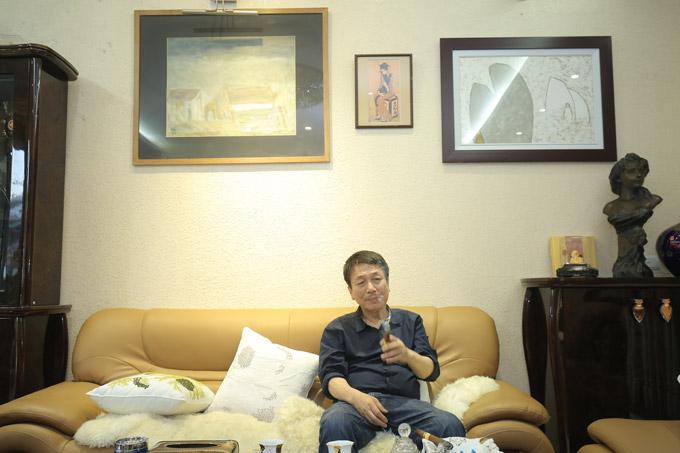 Thanh Lam, Trọng Tấn đến nhà riêng nhạc sĩ Phú Quang để tập nhạc - 7