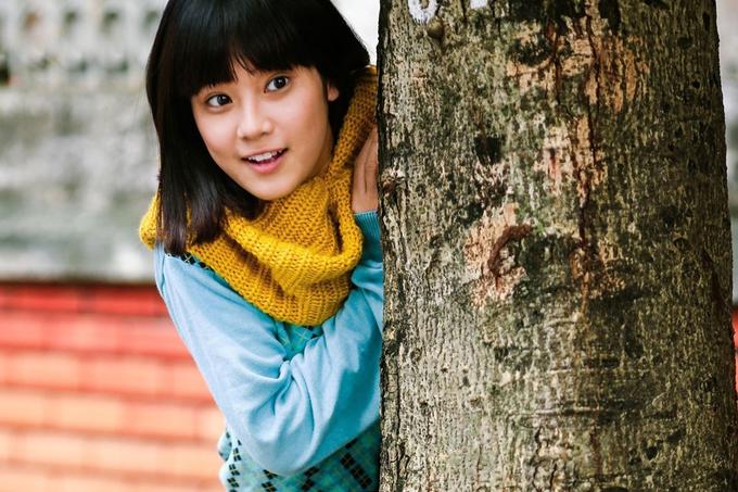 Hoàng Yến trong phim Tháng năm rực rỡ.
