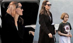 Jolie đưa con gái đi học võ, im lặng trước thông tin đang hẹn hò người mới