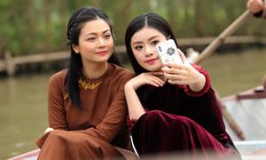 Kiều Anh 'Phía trước là bầu trời' đóng MV cho Sao Mai Thu Hằng