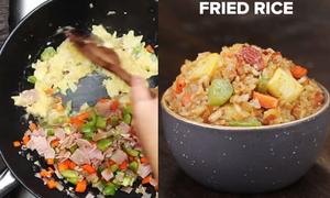 Những biến tấu với món cơm rang kiểu Nhật cho người lười vào bếp
