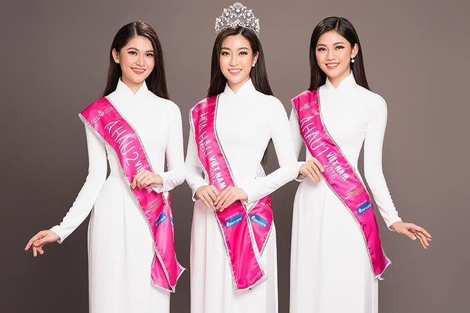 Top 3 Hoa hậu Việt Nam 2016 gồm Hoa hậu Đỗ Mỹ Linh, Á hậu 1 Ngô Thanh Thanh Tú và Á hậu 2 Thuỳ Dung vừa thực hiện bộ ảnh kỷ niệm cùng nhau trước khi kết thúc nhiệm kỳ hai năm.Dù ở bất cứ thời khắc thanh xuân nào, người con gái khi mặc trang phục áo dài là lúc họ đẹp nhất, duyên dáng nhất. Hoa hậu Việt Nam 2018 đã chính thức khởi động sau họp báo ngày 14/3 vừa qua. Đây cũng là năm hứa hẹn quy mô tổ chức hoành tráng kỉ niệm 30 năm cuộc thi Hoa hậu Việt Nam. Hành trình  tìm kiếm và tôn vinh nhan sắc Việt sẽ trải dài khắp 3 miền với nhiều đổi mới ở các vòng thi. Đặc biệt, cuộc thi năm nay sẽ có sự hội tụ của các cựu Hoa hậu Việt Nam qua các thời kỳ.