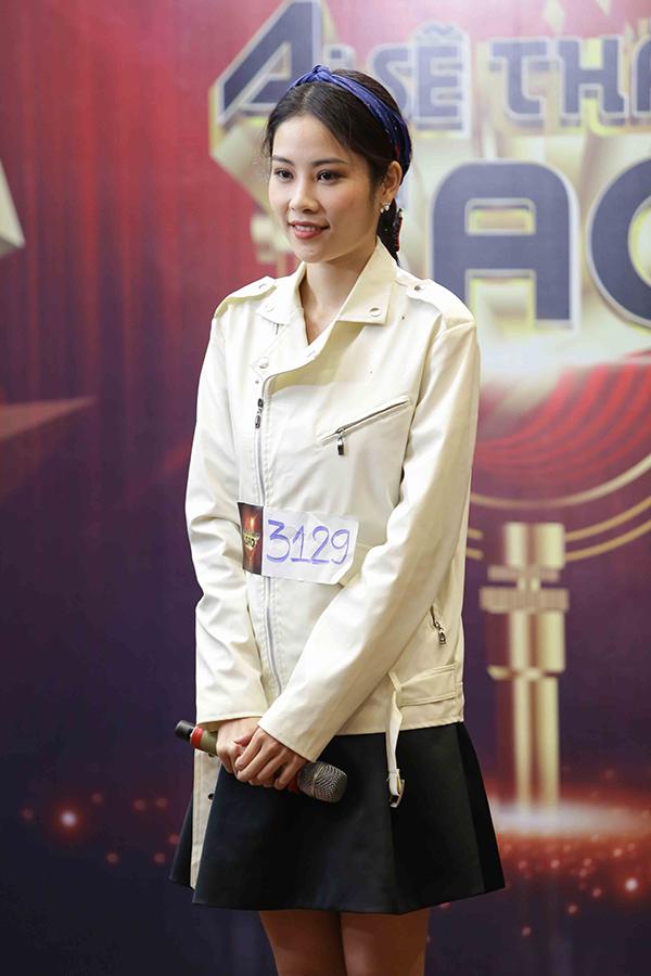 Chị song sinh của Nam Em cho biết, cô muốn trải nghiệm, có thêm cơ hội rèn luyện và mong được khán giả biết tới mình nhiều hơn.