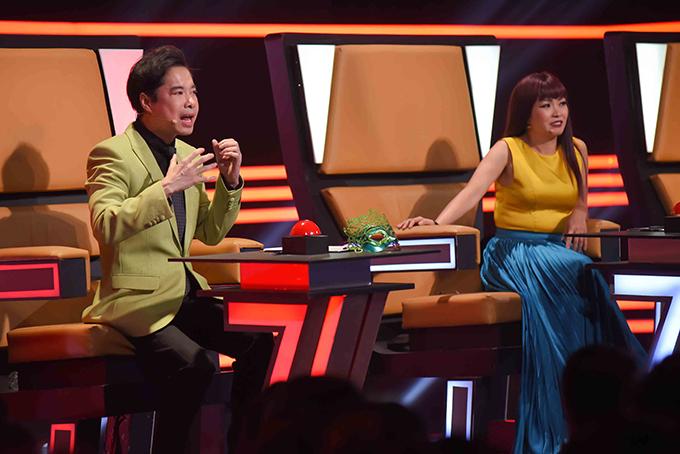 Giám khảo Phương Thanh khen Nam Anh hát và biểu diễn dễ thương, trông như... thiếu nhi. Trong khi đó, ca sĩ Ngọc Sơn lại thấy giống bé Xuân Mai.