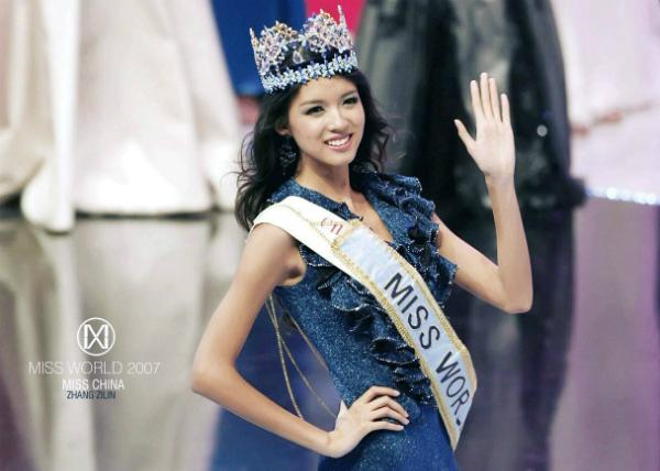 Trương Tử Lâm là hoa hậu thế giới đầu tiên đến từ Đông Á. Ảnh: Miss World