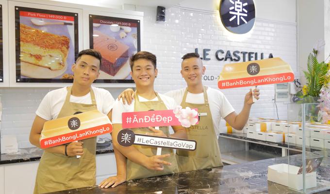 Le Castella Việt Nam là một trong những thương hiệu bánh bông lan được yêu thích nhất hiện nay. Thương hiệu đã phát triển 10 chi nhánh trên toàn quốc chỉ trong vòng chưa đến một năm. Le Castella Việt Nam sử dụng nguồn nguyên liệu tự nhiên như bột organic, collagen và đường lowcarb, mang đến những sản phẩm bánh chất lượng cho thực khách.