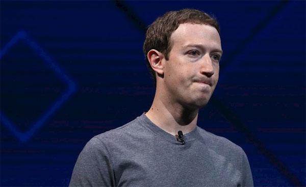 CEO Facebook Mark Zuckerberg lên tiếng xin lỗi vì vụ bê bối. Ảnh: NN.