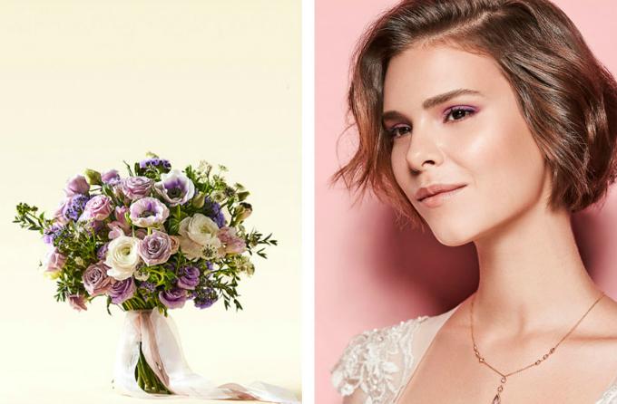 Hoa cưới đồng điệu make up thể hiện rõ chất của nàng dâu - 3