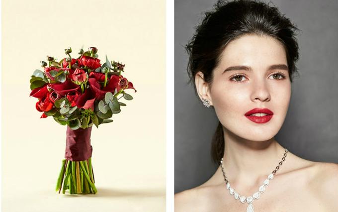 Hoa cưới đồng điệu make up thể hiện rõ chất của nàng dâu - 4
